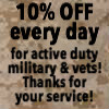 Country Corner Greenhouse offers 10% discount to vets and active duty military every day!